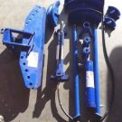 Westward 1VW36 Pipe Bender - 15 Ton Capacity - Blue - Missing Parts