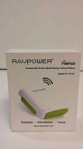 RAVPower All-In-One FileHub Built-in 6000mAh External Battery Pack