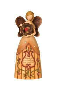 Pavilion Gift Company Country Soul 29001 Angel Figurine, Family, 11-Inch