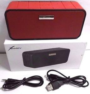 Xoundstar WS-707 Wireless Bluetooth Speaker Portable High-Fidelity Speaker - Red