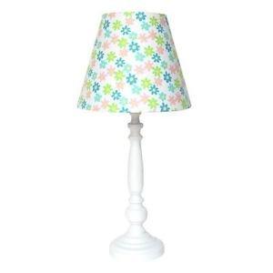 Nova Wrenly Youth Table Lamp 1010231 Pink Green Blue Flower Lamp