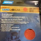 4 Pack Norton Sand Dollar Discs 21818 6 in 150 - 180 Grit Total of 16 Discs