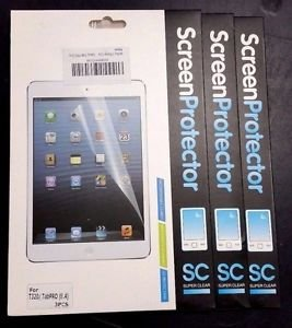 9 Pack of Iwotou Crystal Clear Screen Protector for Samsung Galaxy Tab Pro 8.4