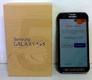 Used Samsung Galaxy S5 Active - Camo Green 16GB - AT&T - BAD IMEI / ESN