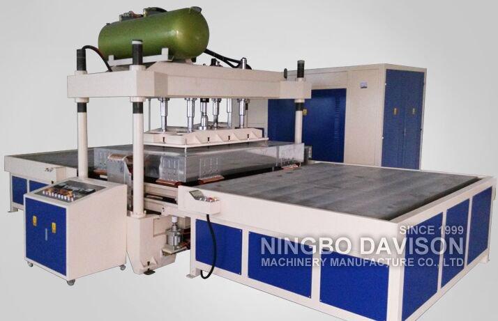 35KW Carpets HF Welding Machine Low Voice Hydraulic HF