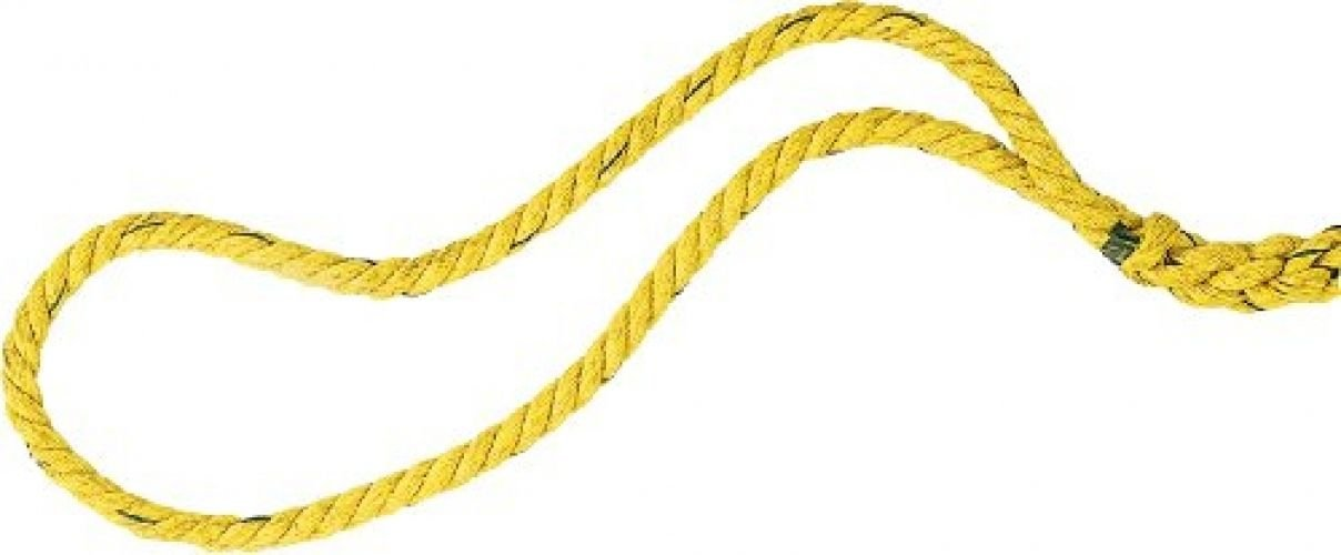 Champion Sports Tug Of War Ropes (Yellow)