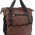 Travelon Stow-Away Convertible Tote Or Backpack Duo (Black/Brown Plaid)