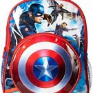 Marvel Toddler Boys Captain America Backpack, Blue, One Size