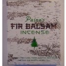 1 X 72 Balsam Logs - Paine's Fir Balsam Incense New