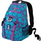 Wildkin Big Dots Serious Backpack, Aqua