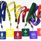 GIFTEXPRESS Hall Pass Lanyards And School Passes Set Of 6