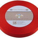 Country Brook Design® 3/4 Inch Red Nylon Heavy Webbing, 10 Yards