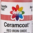 Delta Creative Ceramcoat Acrylic Paint In Assorted Colors (2 Ounce), 2020 Red