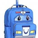 J World New York Patrol Kids' Rolling Backpack