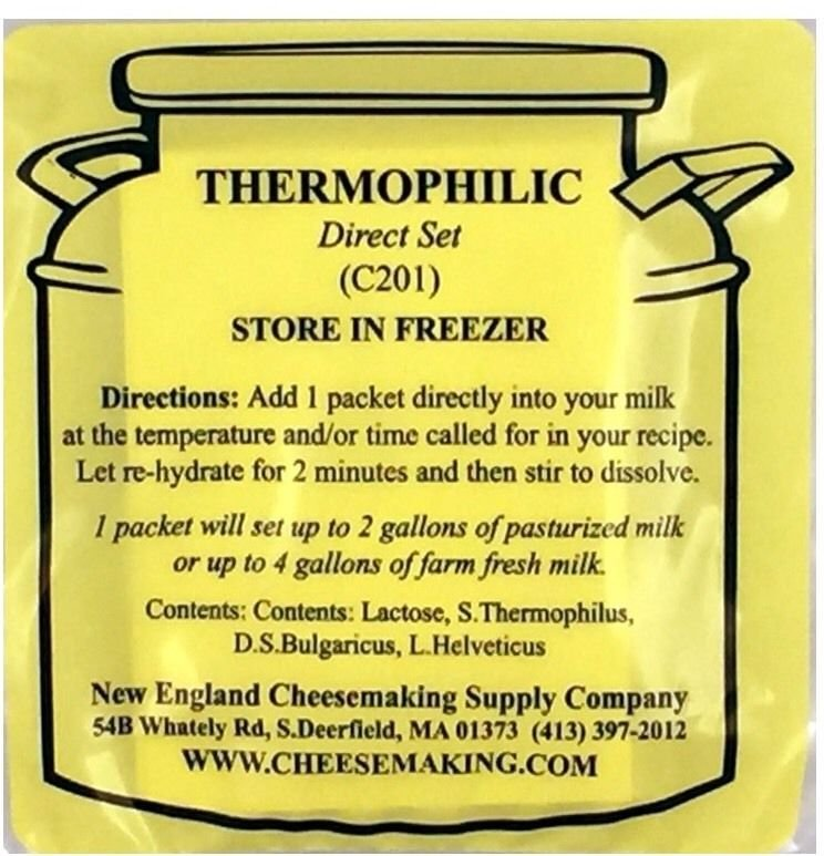 Thermophilic Direct Set Culture, 5-Pack
