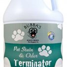 BUBBAS, Super Strength Commercial Enzyme Cleaner-Pet Odor Eliminator. Gallon Or
