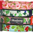 Blueberry Pet 5/8-Inch Spring Scent Inspired Floral Rose Basic Polyester Nylon