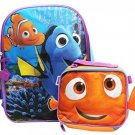 Disney Finding Dory School Backpack 16 W / Lunch Bag