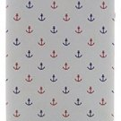 Lovely Back Cover Case For Iphone 5 5s Red Blue Sailor Pattern