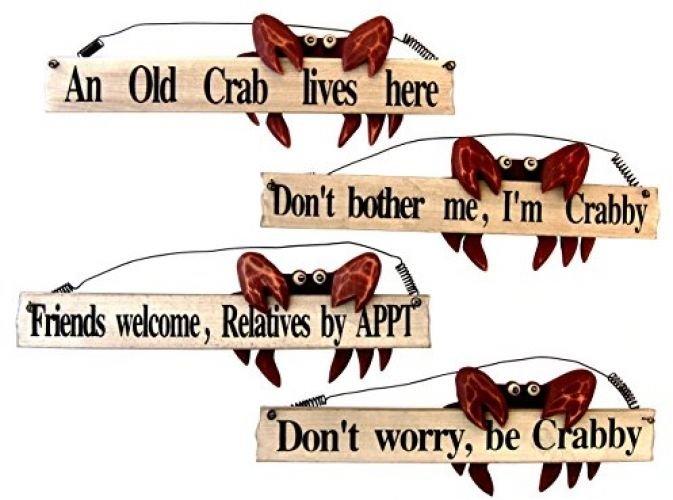 4 Crab Signs