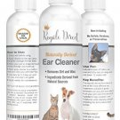 All Natural Dog and Cat Ear Cleaner - Soothing and Gentle Cleansing Solution -