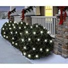 Holiday Time Random Twinkle Cool White LED 4' X 4' Net Lights (70) 764