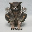 Wise Owl Figurine Salt and Pepper Shaker Holder Kitchen Decoration Decor Statue