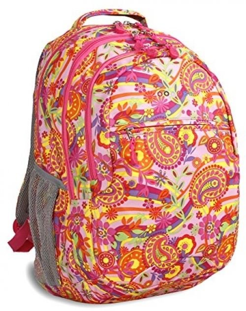 J World New York Cornelia, Pink Paisley, One Size