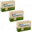 Good Old Values Bamboo Toothpicks, Pack Of 3000