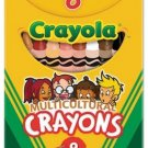 Crayola Multicultural Crayons, Wax, Eight Skin Tone Colors Per Box ,Regular
