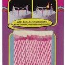 Fast-lite (Tm) Birthday Candles Pink Set Of 10