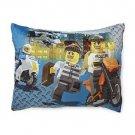 Lego City Boy's Fleece Bed Pillow - Cops & Robbers