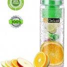 Delicol Infuser Water Bottle 27 Oz Leak Proof Bpa-free Tritan Fruit Sports Your