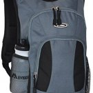 Everest Mini Hiking Pack Multipurpose Backpack, Dark Gray/Black