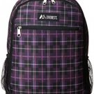Everest Multi-Compartment Casual Backpack, Purple, One Size