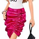 Barbie Fashionistas Barbie Doll, Pink Skirt And Be Yourself Shirt