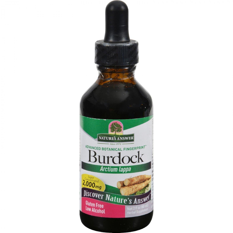 Nature's Answer Burdock Root - 2 fl oz