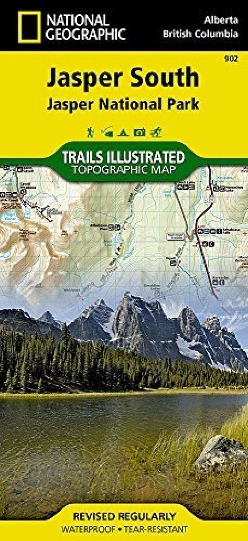 Jasper South [Jasper National Park] (National Geographic Trails Illustrated