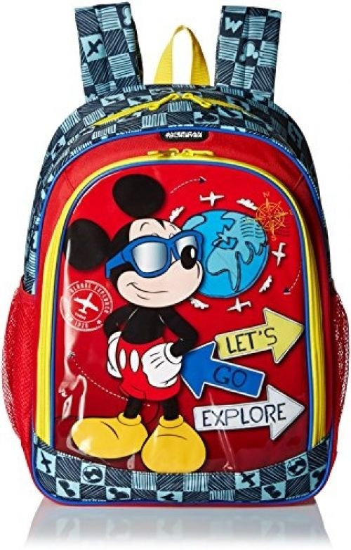 American Tourister Disney Mickey Mouse Backpack Softside, Multi, One Size