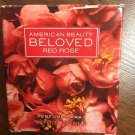 American Beauty Beloved Red Rose 1.7 oz Floral Perfume Spray Ashley Judd New Box