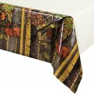 Creative Converting Solid Plastic Banquet Table Cover With Border Print, Camo