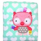Taggies Baby Girl Owl and Heart Stroller Blanket by Taggies - Green - Not Appli