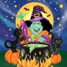 Toland Home Garden Witch's Brew 28 x 40-Inch Decorative USA-Produced House Flag