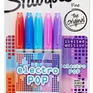 Sharpie Permanent Markers, 5-Pack, Electro Pop, Assorted 2015 Colors (1919847)