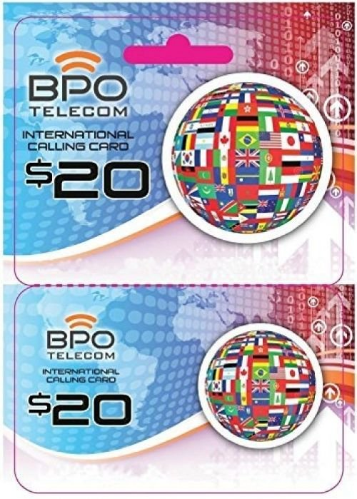 $20 Call To Canada Rechargeable International Calling Card No Hidden Fees