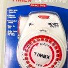 New Timex Heavy Duty Light Appliance Programmer Timer Model 12-881 1875 Watt NIB