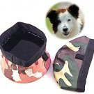 Genie Best #1 Pet Travel Bowl Collapsible Premium Nylon For Every Dog Lover.