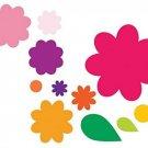 Sizzix Framelits Die Set 11PK - Flower Layers and Leaf By Stephanie Barnard