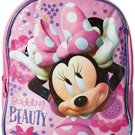 Disney Girls' Minnie Mini Backpack With Coin Purse, Pink, One Size