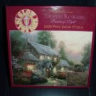 Thomas Kinkade Glow In The Dark Puzzle-Julianne's Cottage